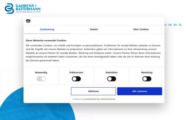 Vorschau von www.gb-mediensysteme.de, Gahrens + Battermann GmbH