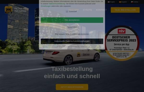 Vorschau von www.taxi.eu, taxi.eu - fms Systems GmbH