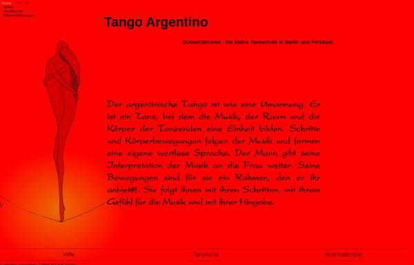 Vorschau von www.sentimiento.de, Tango argentino