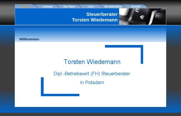 Vorschau von www.bilanzanalyse-online.de, Steuerberater Torsten Wiedemann