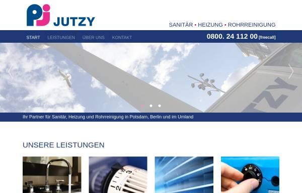 Vorschau von www.jutzy-haustechnik.de, Jutzy Haustechnik & Service GmbH
