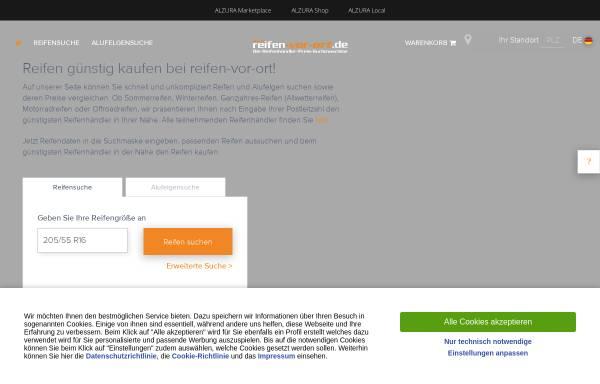 Vorschau von www.reifen-vor-ort.de, Reifen vor Ort