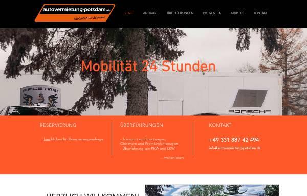 Vorschau von www.autovermietung-potsdam.de, Autovermietung Potsdam