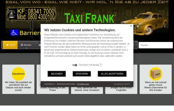 Vorschau von taxi-frank.info, Artur Frank - Taxi und Mietwagen