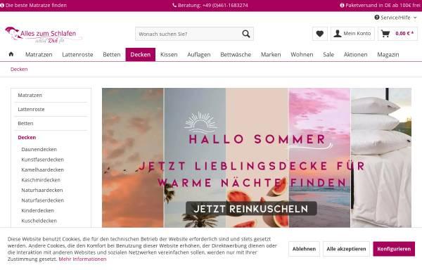 Vorschau von www.bettwaren-heimtextilien-shop24.de, Uwe Noack