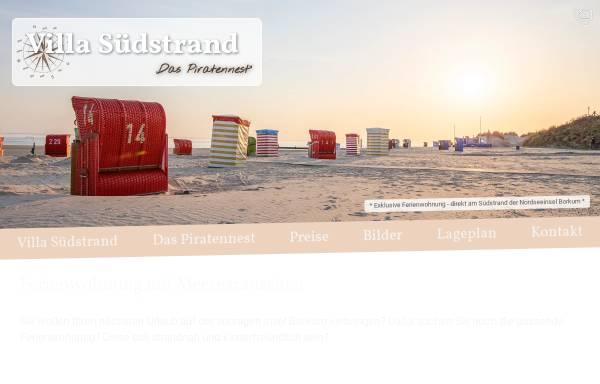 Vorschau von www.xn--villa-sdstrand-borkum-fic.de, Villa Südstrand Borkum