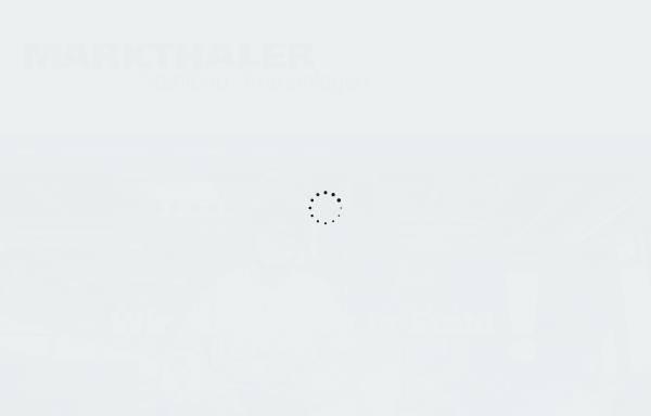 Vorschau von www.markthaler-stahlbau.de, Markthaler Stahlbau GmbH & Co. KG