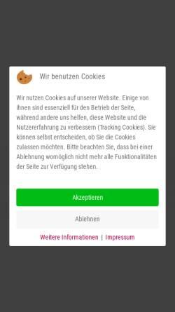 Vorschau der mobilen Webseite www.tcsccberlin.de, Tennis-Club SCC Berlin e.V.