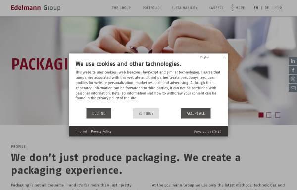 Vorschau von www.edelmann.de, Carl Edelmann GmbH