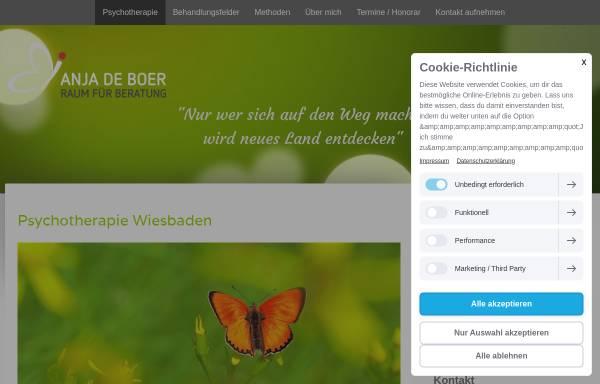 Vorschau von www.therapieweg.de, Raum für Beratung Anja de Boer