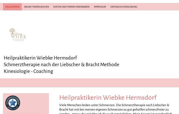 Vorschau von www.heilpraxis-hermsdorf.de, Wiebke Hermsdorf