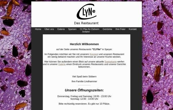 Vorschau von www.restaurant-clyne.de, Clyne - Das Restaurant