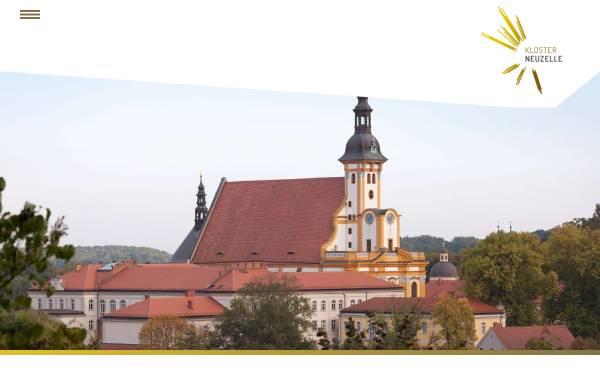 Vorschau von www.stift-neuzelle.de, Stiftung Stift Neuzelle