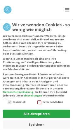 Vorschau der mobilen Webseite ihre-heilpraktiker.berlin, Heilpraktiker Wanitschek & Vigl Berlin