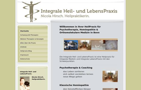 Vorschau von www.integrale-heil-und-lebenspraxis.com, Nicola Hirsch