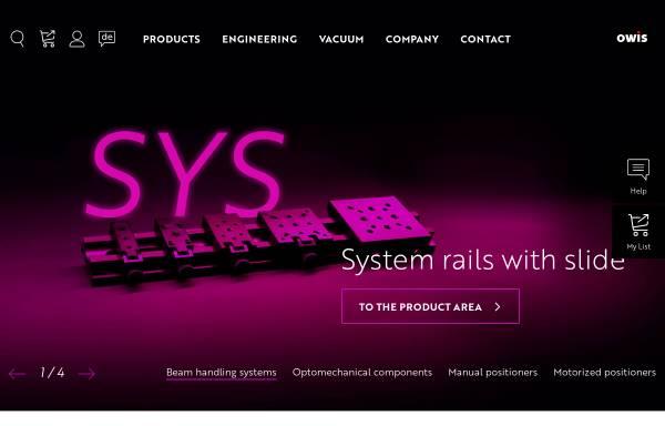 Vorschau von www.owis.eu, OWIS GmbH