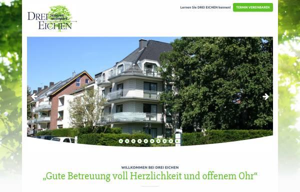 Vorschau von www.drei-eichen.com, DREI EICHEN Seniorenwohnpark in Aachen-Brand, Mobiler Pflegedienst