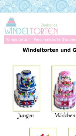 Vorschau der mobilen Webseite www.geschenke-zur-geburt-und-taufe.de, Geschenke zur Geburt und zur Taufe