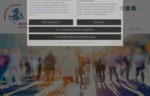 Vorschau von www.fachhochschulen-nrw.de, Fachhochschulen in NRW
