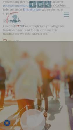 Vorschau der mobilen Webseite www.fachhochschulen-nrw.de, Fachhochschulen in NRW
