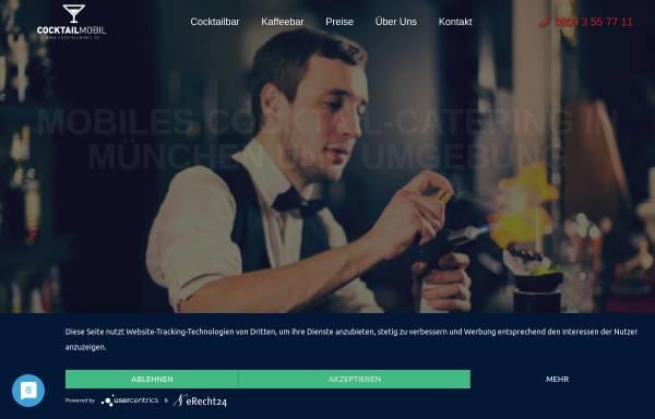 Vorschau von www.cocktailmobil.de, Tricks Club & Lounge