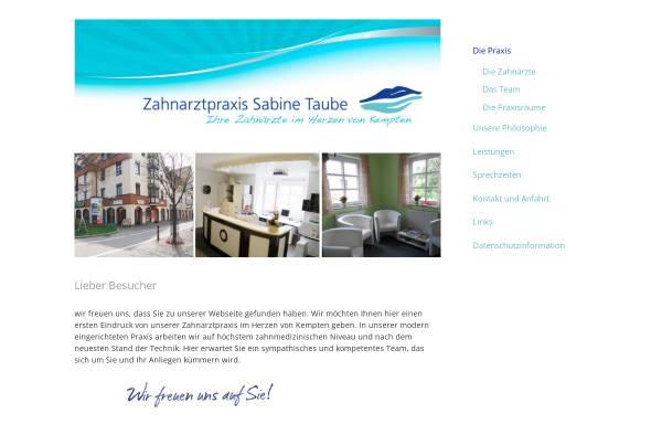 Vorschau von www.dentalarts.de, Dr. Kornel Mayr und Sabine Taube