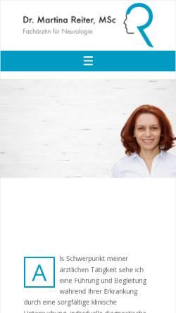 Vorschau der mobilen Webseite neurologie.pro, Sturm, Dr. Barbara