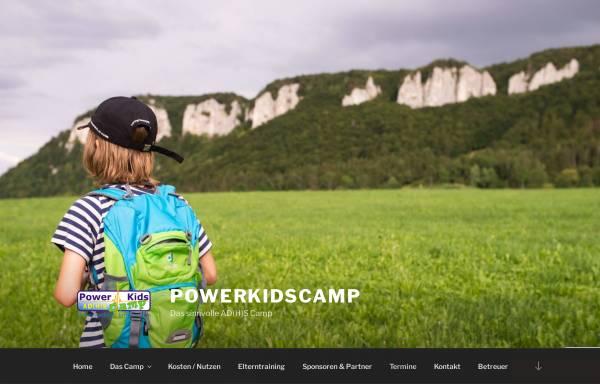 Vorschau von powerkidscamp.de, PowerKids AD(H)S-Camp