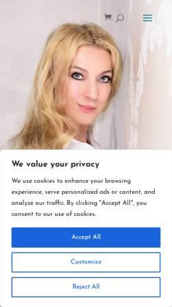 Vorschau der mobilen Webseite www.holisticum.de, Lilianna Heitmann