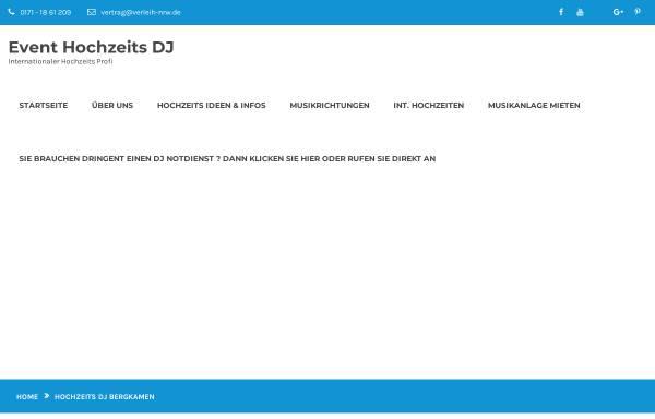 Vorschau von www.dj-in-bergkamen.de, DJ in Bergkamen, Mirko Gerhard