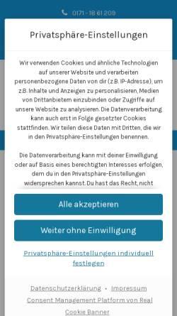 Vorschau der mobilen Webseite www.dj-in-bergkamen.de, DJ in Bergkamen, Mirko Gerhard