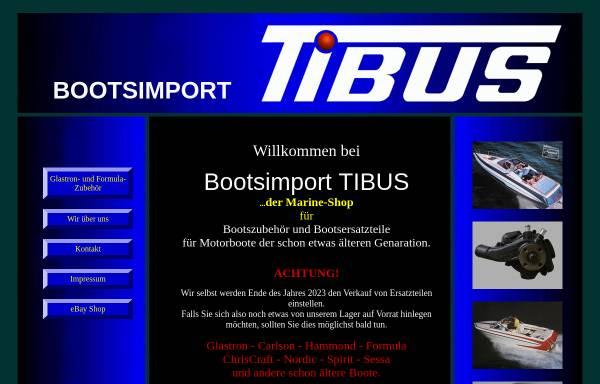 Vorschau von www.tibus-boote.de, Tibus Boote