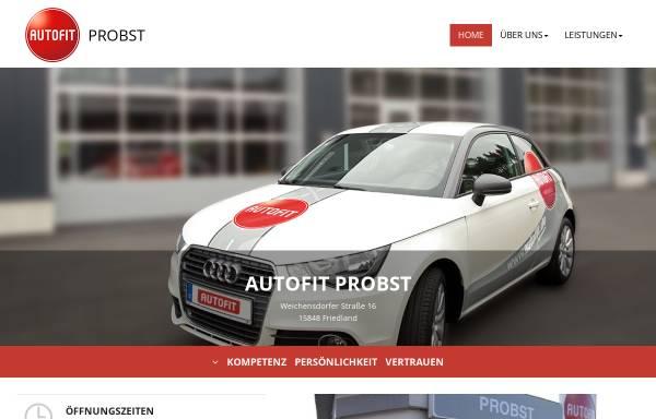 Vorschau von www.autoservice-probst.de, Autoservice M. Probst