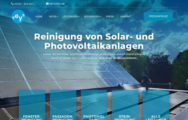 Vorschau von www.veys-gebaeudereinigung.de, Gebäudereinigung veys