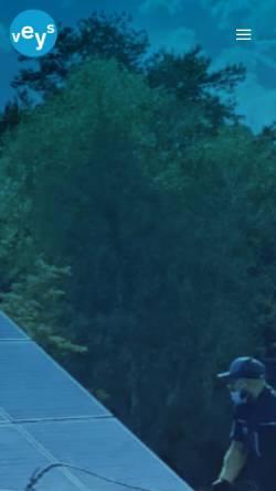 Vorschau der mobilen Webseite www.veys-gebaeudereinigung.de, Gebäudereinigung veys