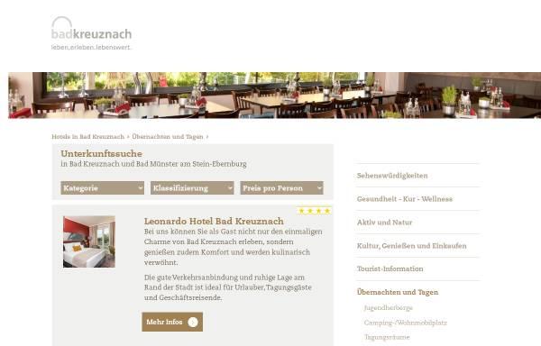 Vorschau von www.hotels-in-badkreuznach.de, Hotels in Bad Kreuznach