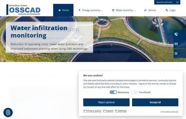 Vorschau von www.osscad.eu, OSSCAD GmbH & Co. KG Consulting and Development