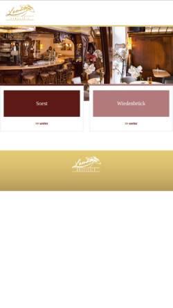 Vorschau der mobilen Webseite www.lamaeng-brasserie.de, Lamäng Brasserie