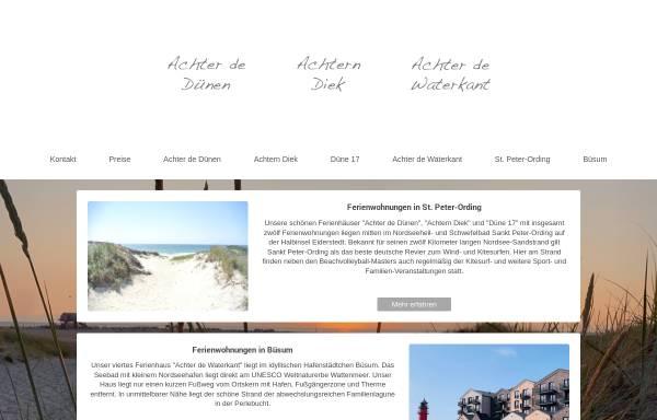 Vorschau von www.ferienwohnung-nordsee-st-peter-ording.de, Haus