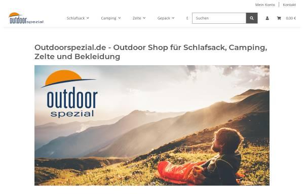 Vorschau von www.outdoorspezial.de, Outdoorspezial