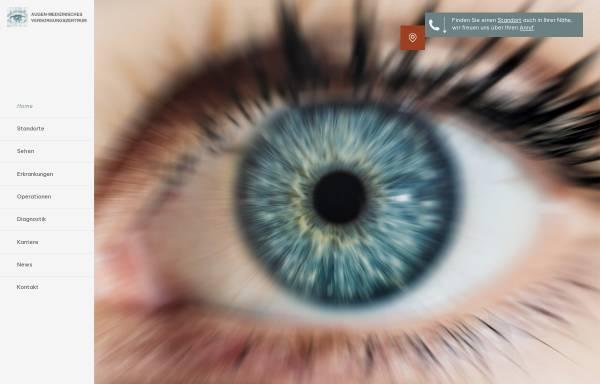 Vorschau von www.augenoperationen.de, Augen-Medizinisches-Versorgungszentrum Landshut