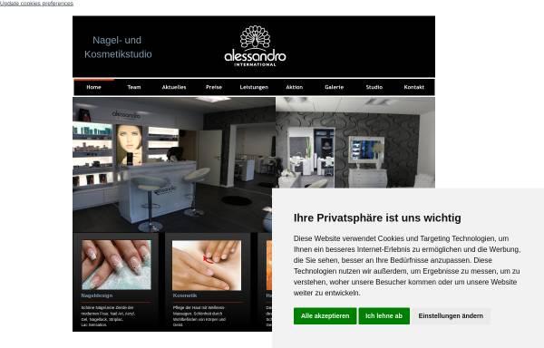 Vorschau von www.nail-beauty.eu, Nagelstudio