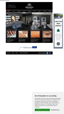 Vorschau der mobilen Webseite www.nail-beauty.eu, Nagelstudio