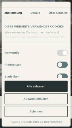 Vorschau der mobilen Webseite www.baeren-gonten.ch, Gasthaus Bären