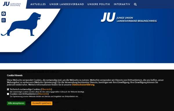 Vorschau von www.ju-lv-bs.de, Junge Union Bezirksverband Braunschweig
