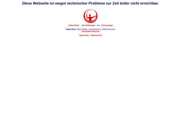 Vorschau von www.fd-regionhannover.de, FD Region Hannover