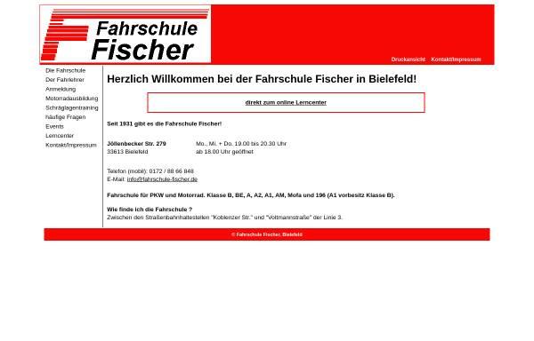 Vorschau von www.go87.de, Fahrschule Fischer