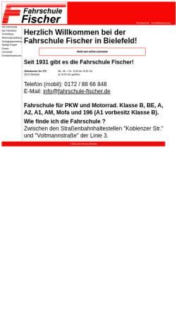 Vorschau der mobilen Webseite www.go87.de, Fahrschule Fischer