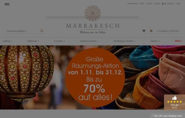 Vorschau von www.marrakesch-galerie.de, Galerie Marrakesch