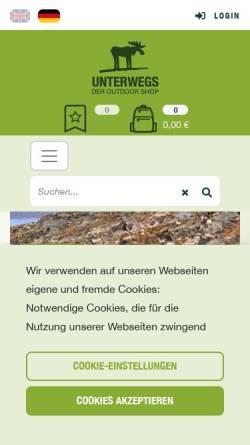 Vorschau der mobilen Webseite www.elkies.de, elkies - robust, cool, funktional